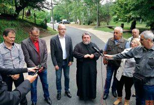 Gradonačelnik Požarevca sa saradnicima obišao završene radove u Poljani 3229