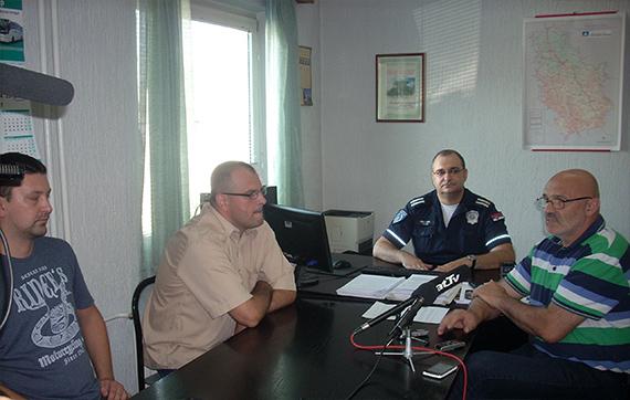 Grad donirao opremu saobraćajnoj policiji 4416