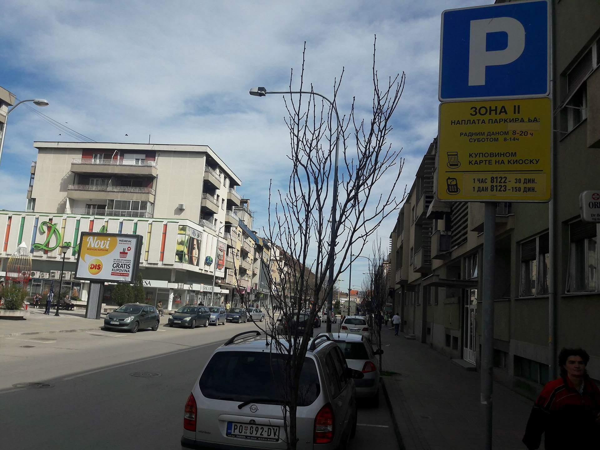 Bez naplaćivanja parkinga za vreme praznika 6612