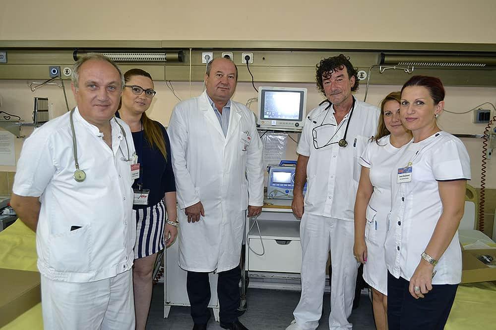 Opšta bolnica u Požarevcu nabavila novi agregat i 10 novih pacijent monitora 7411