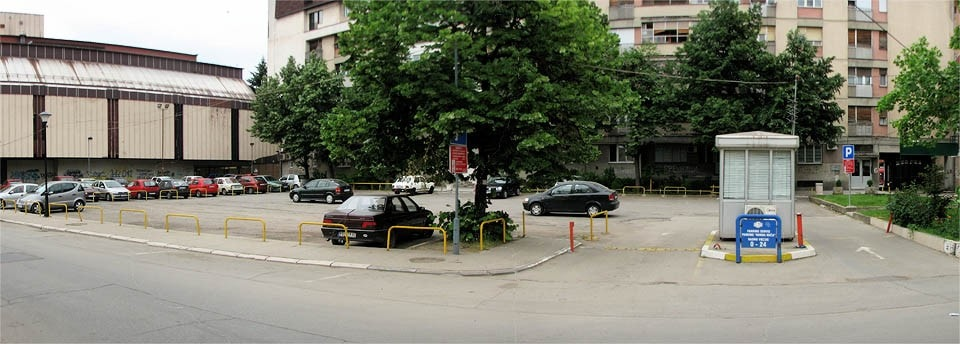 """Parking u Požarevcu prvog dana """"Ljubičevskih konjičkih igara""""  BESPLATAN 7471"""