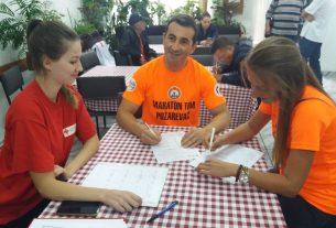 Akcija dobrovoljnog davanja krvi - Akciju je podržao Maraton tim Požarevac 8569