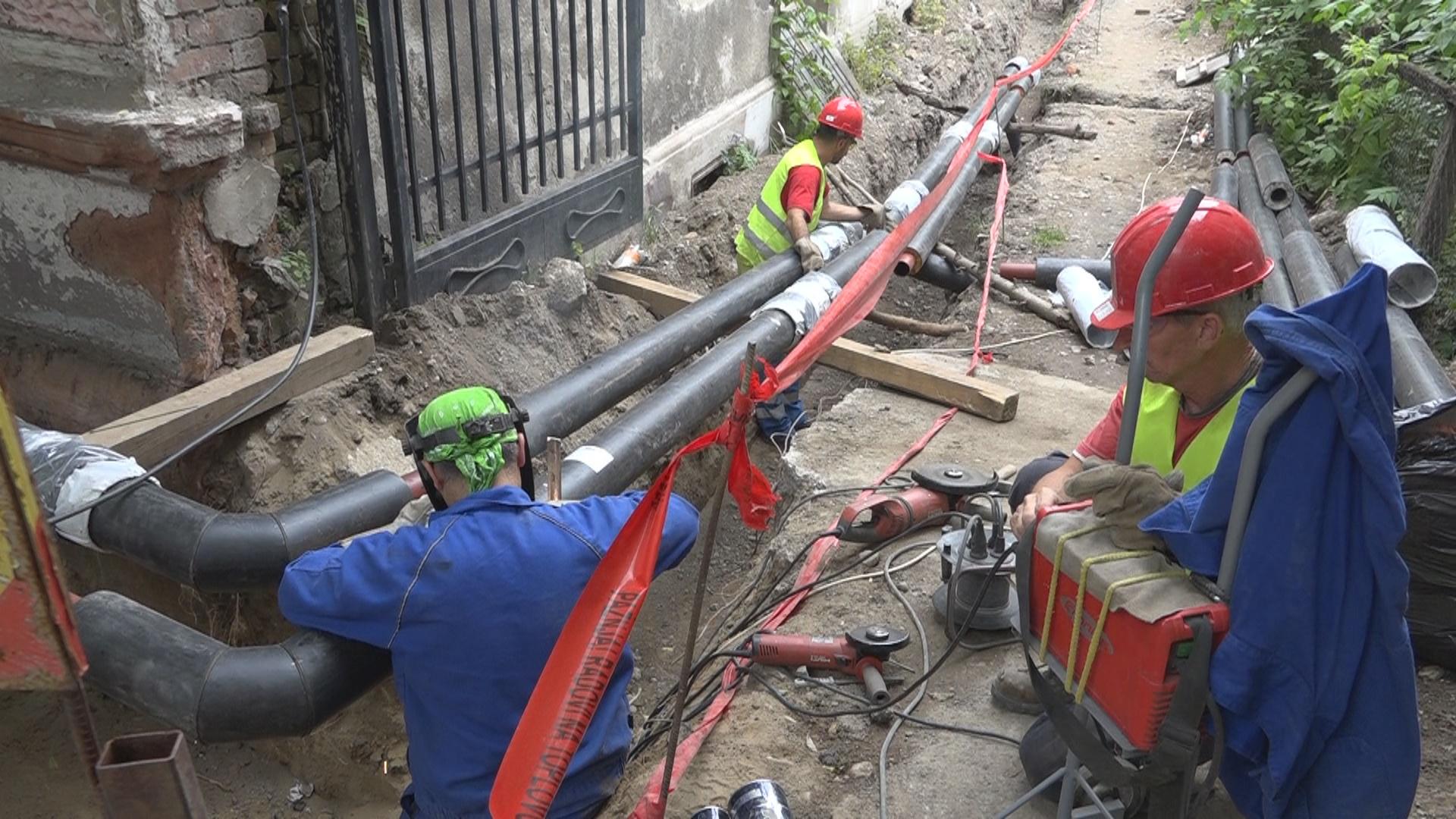 Širenje toplifikacione mreže u Požarevcu i radovi na južnom kišnom kolektoru 3