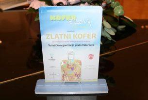 """Na XIV Međunarodnom festivalu turističkih publikacija """"KOFER SLOVA pripao Gradu Požarevacu 9402"""