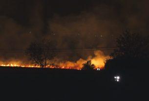 """Saopštenje za javnost - Štaba za vanredne situacije - Sprečavanju širenja požara na vodoizvorištu """"Ključ"""" 9520"""