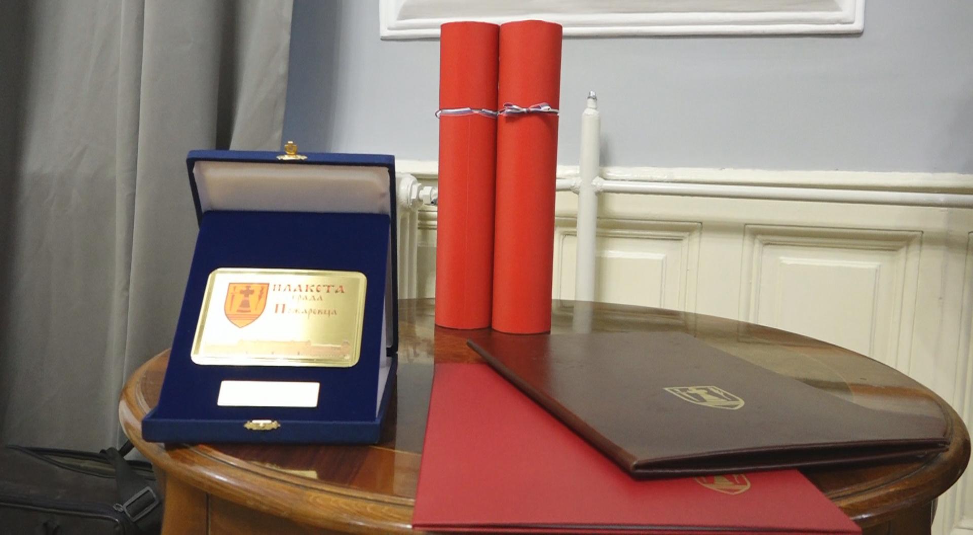 Dodela nagrada i povelja povodom Dana oslobođenja grada Požarevca 22965