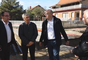Bane Spasović gradonačelnik Grada Požarevca obišao radove na toplifikaciji 10115