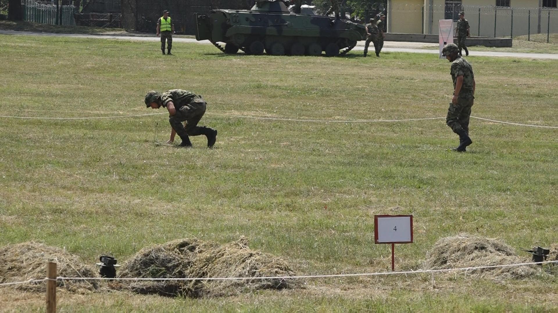 Dopuna obaveštenja o izvođenju gađanja iz pešadijskog naoružanja i vežbe sa bojnim minsko-eksplozivnim sredstvima (MES) za septembar 41092
