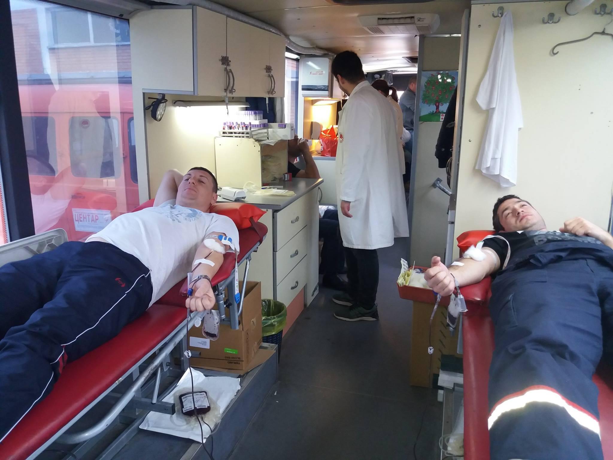 """Akcija dobrovoljnog davanja krvi u ED """"Elektromorava"""" Požarevac 11852"""