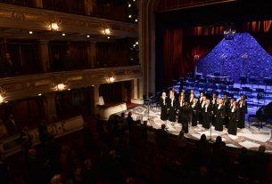 """Hor """"Barili"""" nastupio na Velikoj sceni Narodnog pozorišta u Beogradu 10398"""