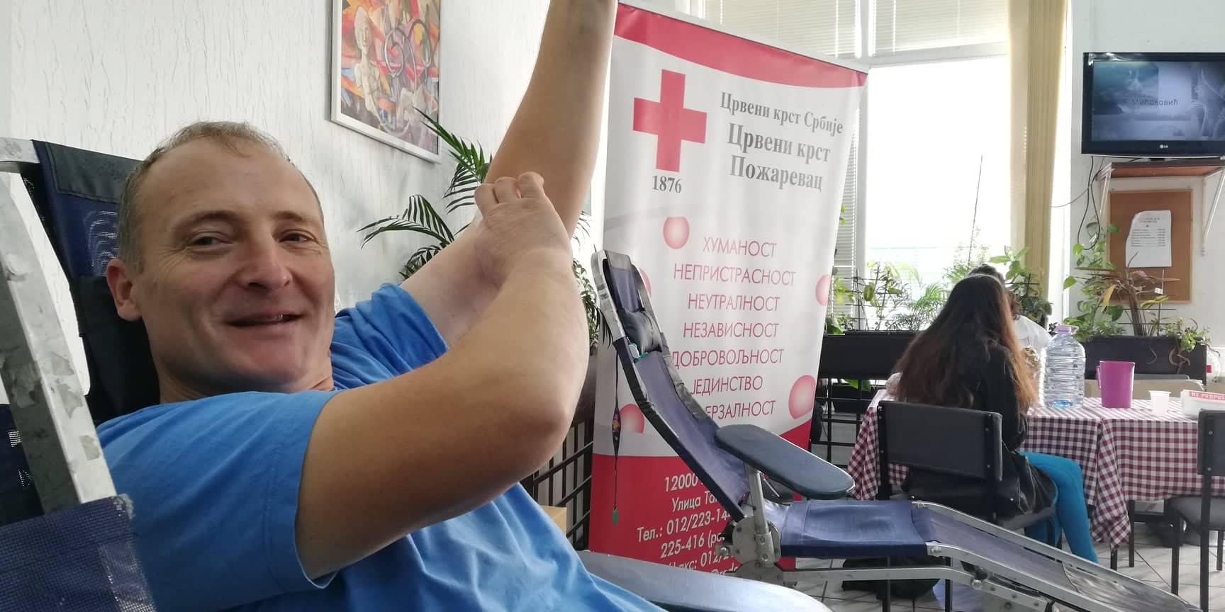 Akcija dobrovoljnog davanja krvi, zbog državnog praznika održava se danas(FOTO) 10828