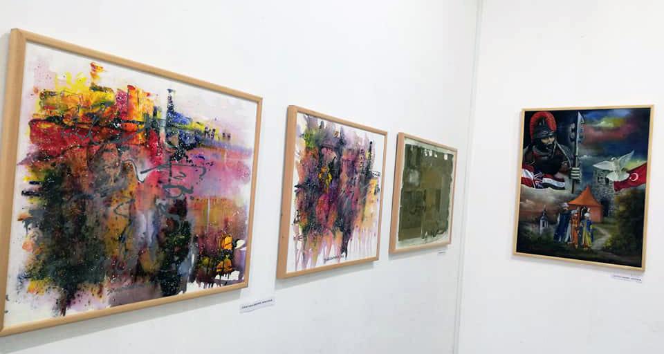 """Otvorena izložba slika Udruženja Art krug PM Požarevac """"Umetnička poruka miru 2018."""" 12511"""