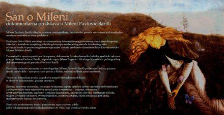 Dokumentarna predstava San o Mileni, Milena Pavlović Barili 12586