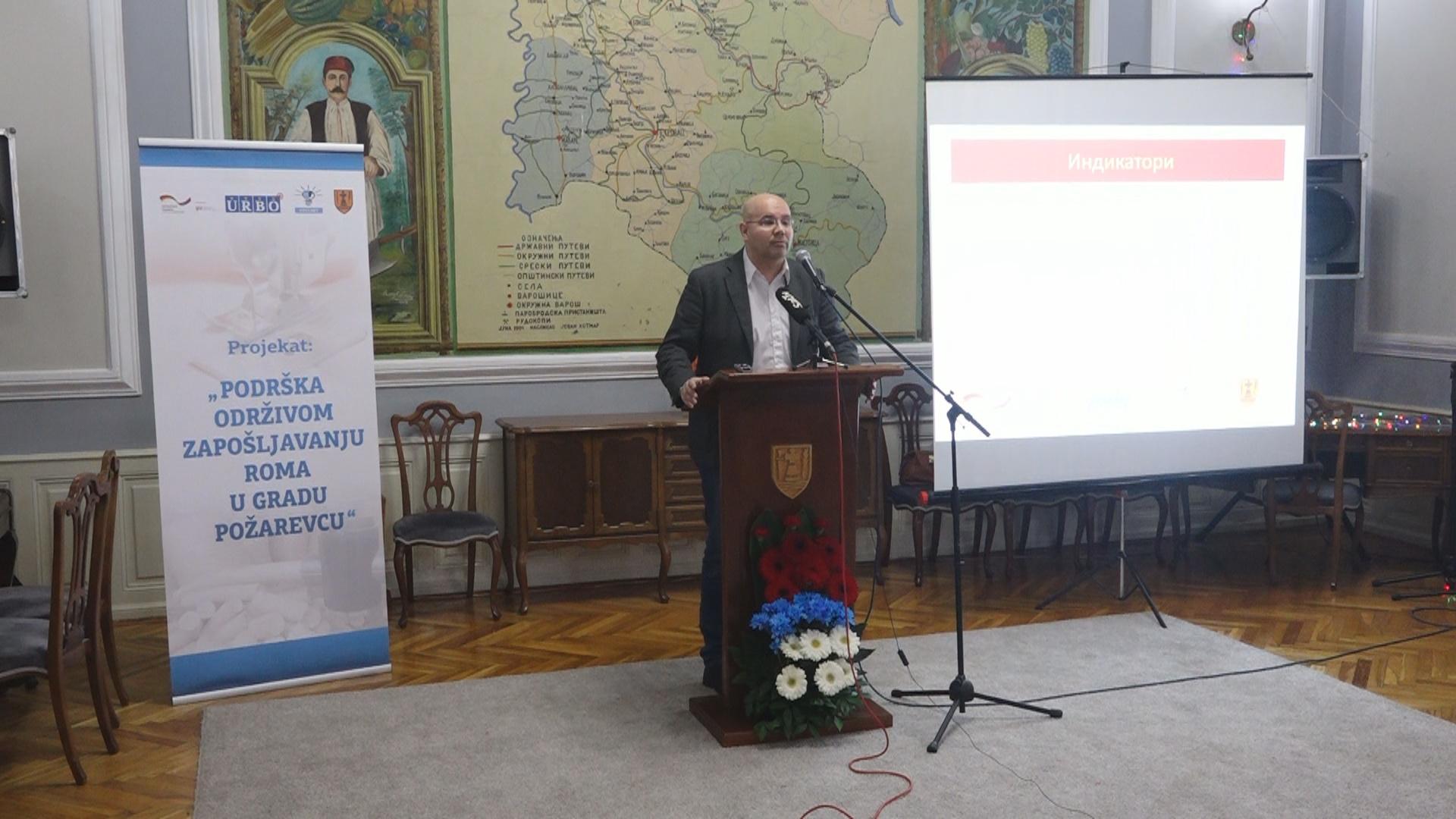 """Predstavljena realizacija projekta ,,Podrška održivom zapošljavanju Roma na teritoriji Grada Požarevca"""" 13177"""