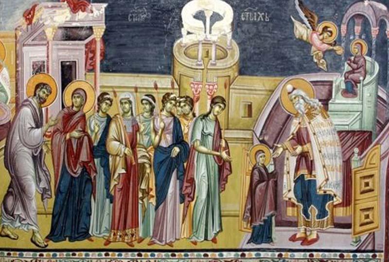 Crveno slovo, veliki praznik i slava manastira Hilandar slavimo Vavedenje Presvete Bogorodice: Koja žena žudi za majčinstvom, neka se danas pomoli Bogomajci 12052