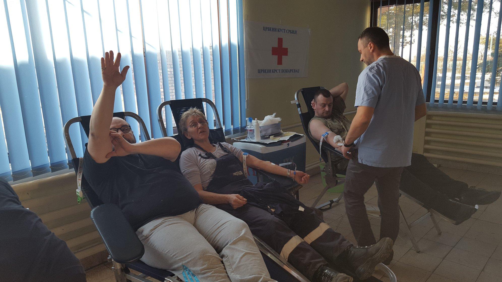 "Akcija dobrovoljnog davanja krvi P.D.""PRIM"" Kostolac FOTO 13919"