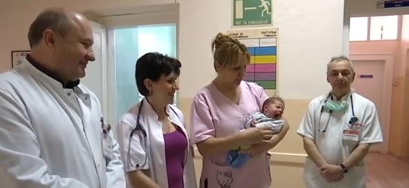 Lekari napuštenoj bebi dali ime Srećko 14355