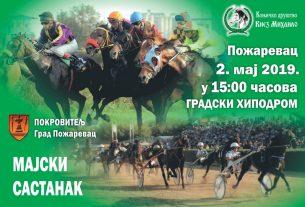 """""""Majski sastanak"""" - Otvaranje sezone konjskih trka i konjičkih takmičenja  u Požarevcu 17678"""