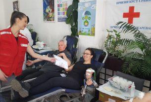 Akcija dobrovoljnog davanja krvi u Velikom Gradištu 34740