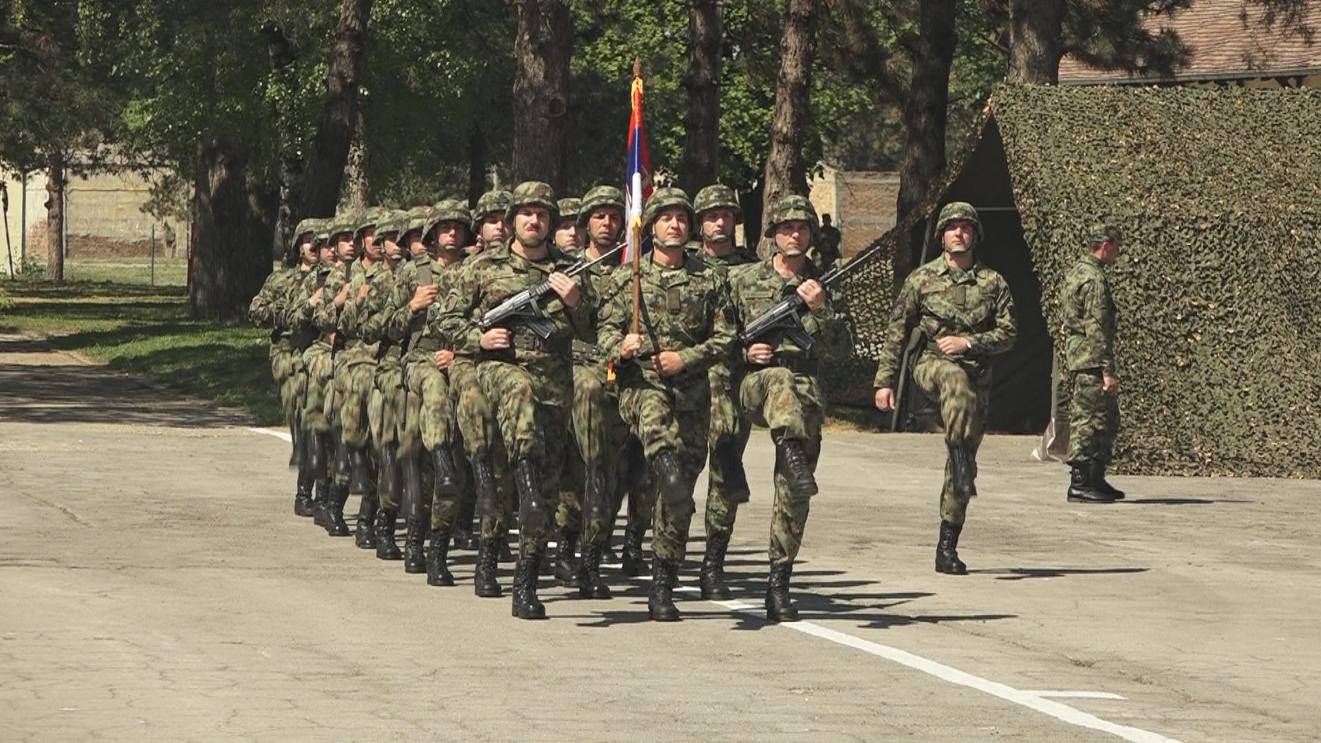 Proslava vojnih praznika u jedinicama Komande za obuku 26050