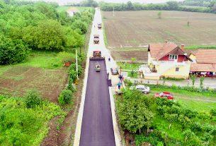 Rukovodstvo opštine obišlo završne radove na rekonstrukciji deonice puta Lopušnik – Petrovac na Mlavi 18542