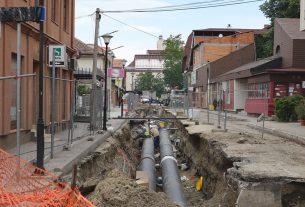 Zbog rekonstrukcije Sinđelićeve ulice, bez vode u utorak 28.maja bočne ulice 18847