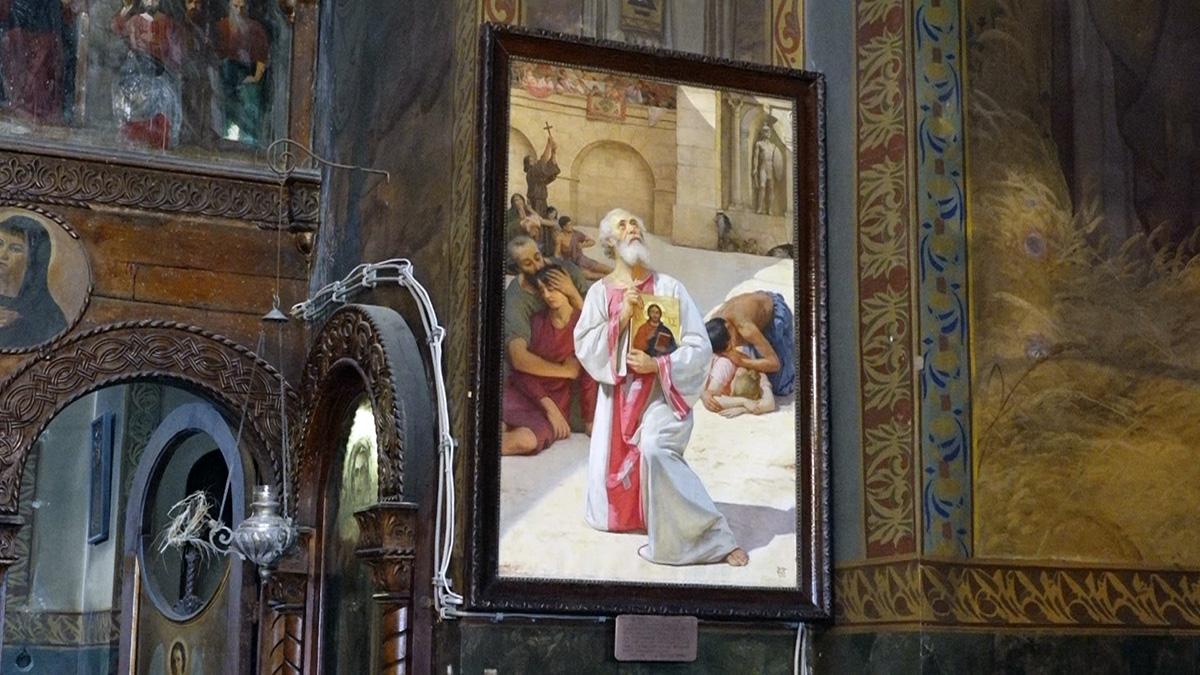 Završena restauracija Predićevih slika u crkvi Sv. velikomučenika Georgija u Starom Kostolcu FOTO 18639