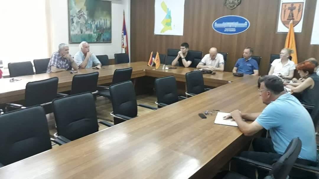 Zasedao Štab za vanredne situacije Grada Požarevca i tim povodom izdao saopštenje 20013