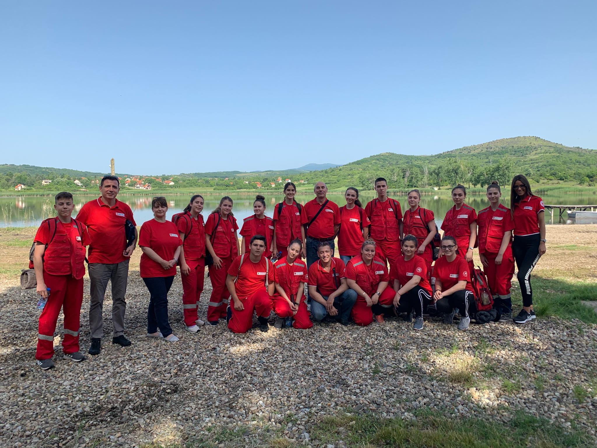 Međuregionalno takmičenje ekipa prve pomoći Crvenog krsta Srbije 19425