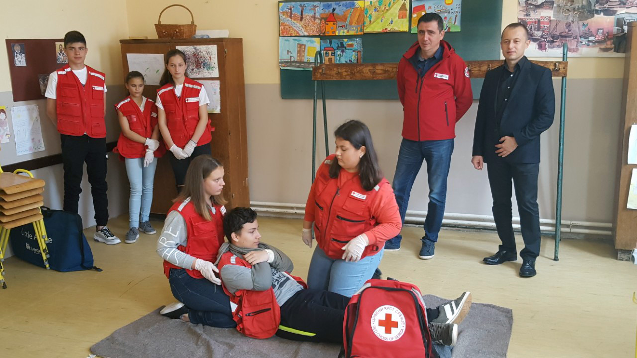 Gradsko takmičenje ekipa Prve pomoći Crvenog krsta Požarevac 19139
