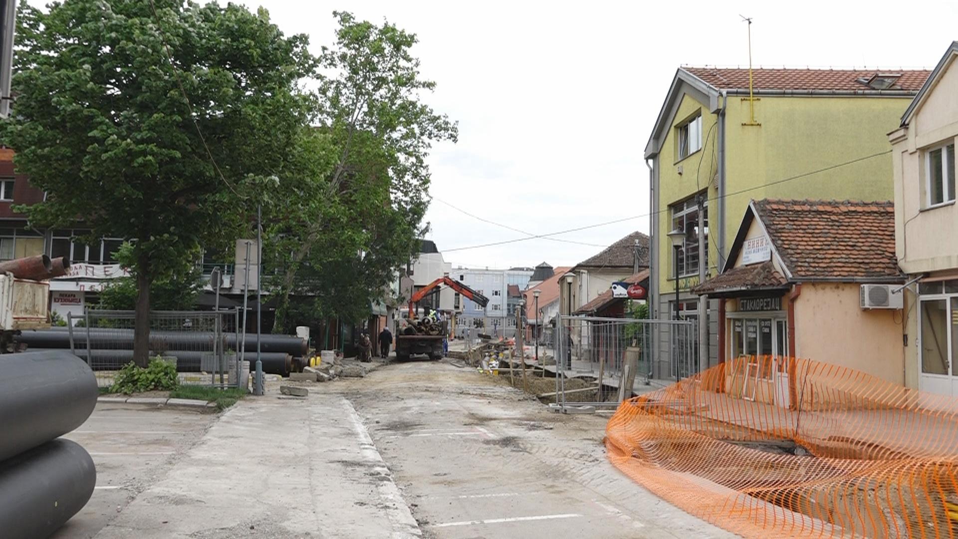 Bez vode,potez ulice Jug Bogdanove-od Nemanjine do Kneza Lazara i u ulici Kneza Lazara 20303