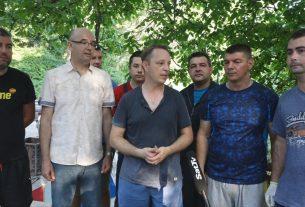 Članovi SNS stranke GO Požarevac nastavlja akcije uređenja javnih površina 20494