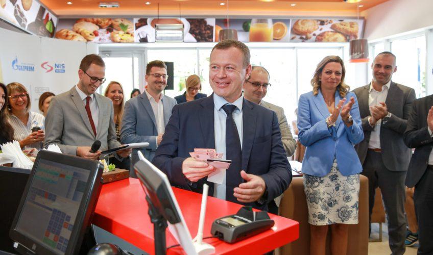 NIS I MASTERCARD UVELI NOVU USLUGU ZA POTROŠAČE Mogućnost podizanja gotovine uz Mastercard karticu na benzinskim stanicama NIS 21348