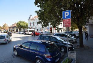 """Obaveštenje JKP""""Parking servis"""" povodom održavanja biciklističke trke u Požarevcu 21721"""