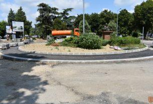 Gradonačelnik Grada Požarevca Bane Spasović obišao radove na novom kružnom toku 21768