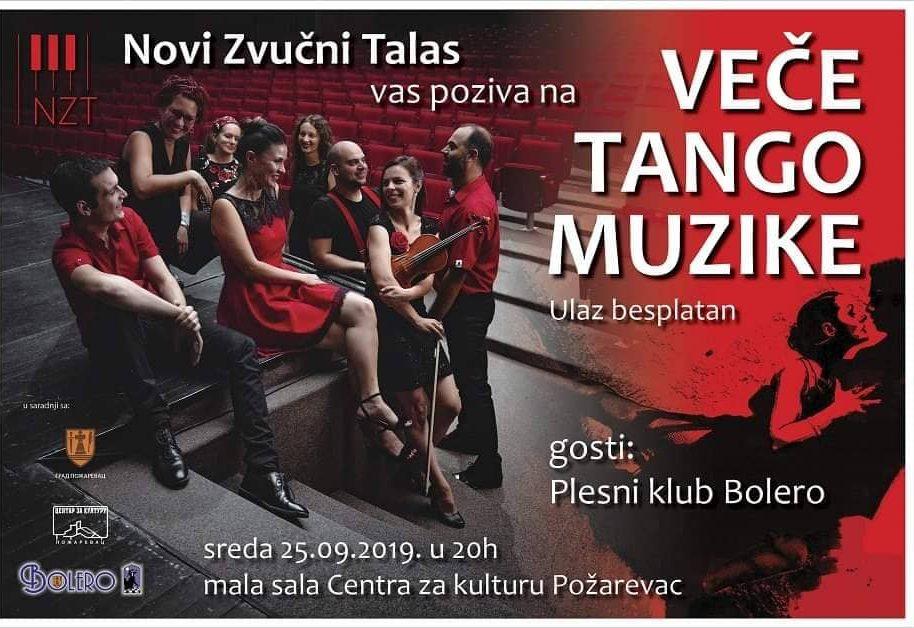 """""""Veče tango muzike"""" za Požarevljane 23430"""