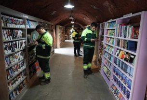 Turski radnici gradske čistoće sakupljali bačene knjige i napravili čudo 22946