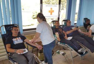 """Akcija dobrovoljnog davanja krvi u PD""""Prim"""" u Kostolcu 23194"""