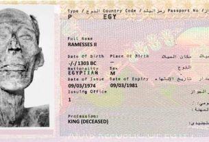 Ramzes II dobio pasoš 23829