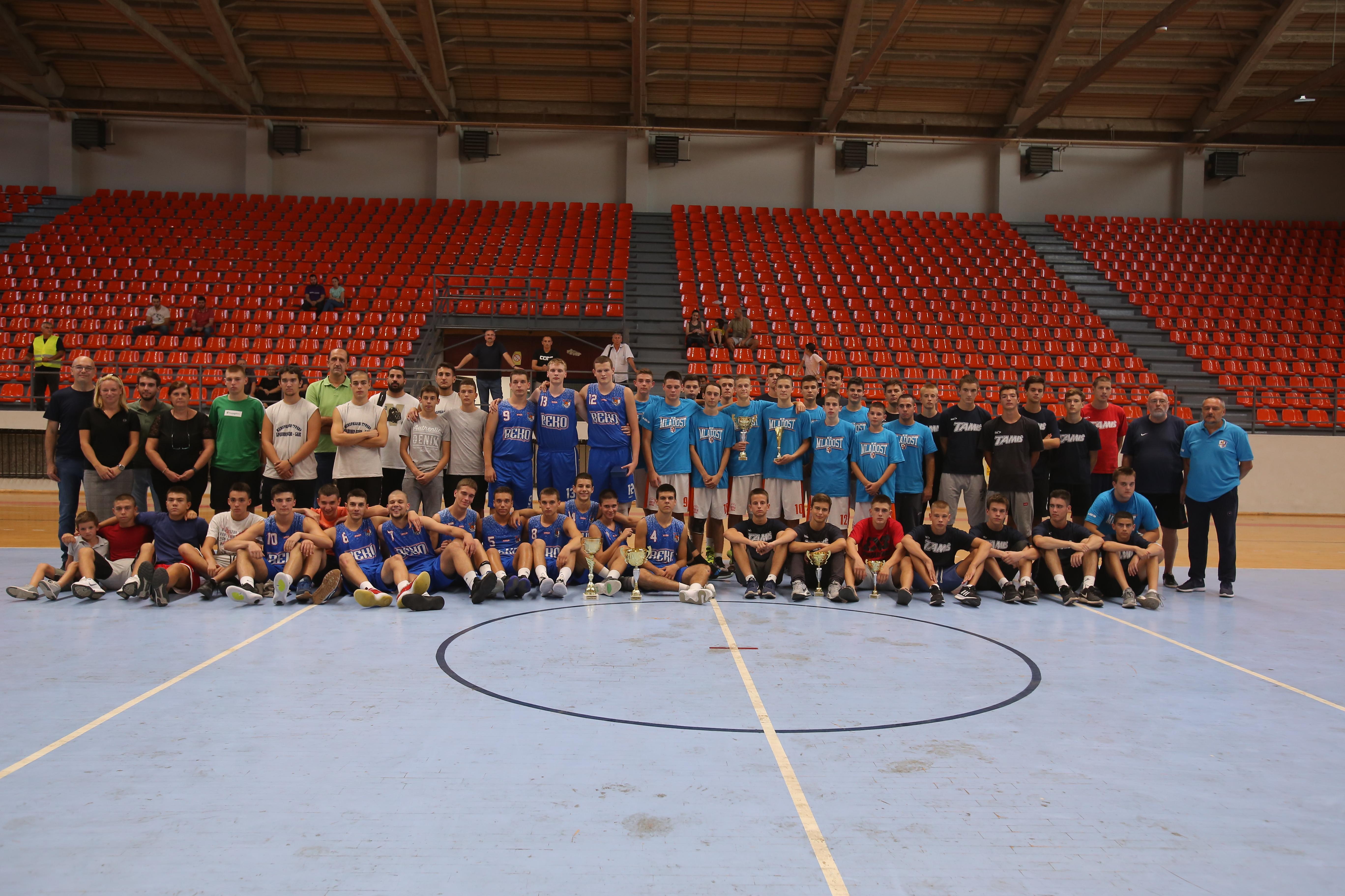 IV Memorijalni  košarkaški turnir Branimir Jocić- Bane: Pobednik turnira ekipa Beko (Beograd) 23108
