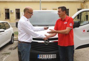 Grad Požarevac donirao novo vozilo Crvenom Krstu Požarevac 22852