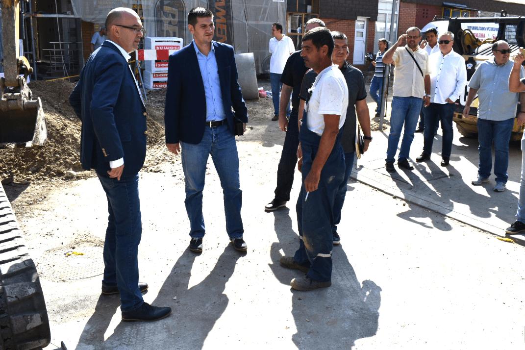 Gradonačelnik obišao Sinđelićevu: Kraj radova u novembru 23301