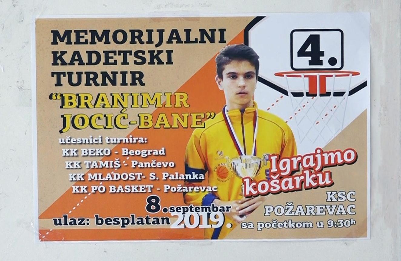 """4.Memorijalni turnir Bane Jocić i 2.Memorijalni turnir 3x3 u basketu """"Nenad Nedeljković Neđa"""" 1"""
