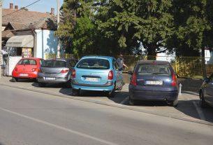 JKP Parking servis Požarevac: ZONA I u Nemanjinoj ulici  od ponedeljka 9.septembra.2019.godine 22998
