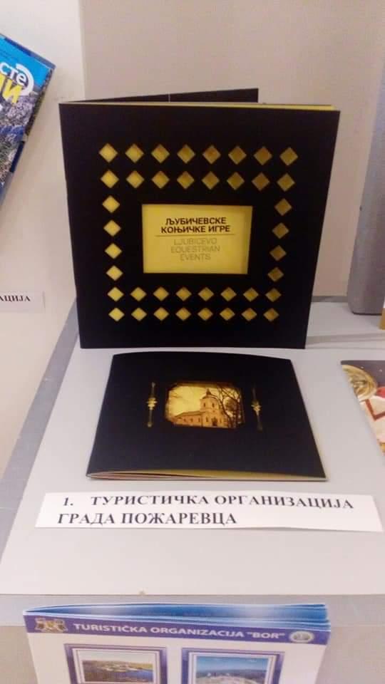 "Na izložbi publikacija ""KOFER SLOVA"", Turistička organizacija grada Požarevca osvojila tri nagrade 24396"