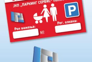 """Podela Bebi parking karata na štandu kod zatvorenog parkirališta """"Pijaca"""" 24857"""