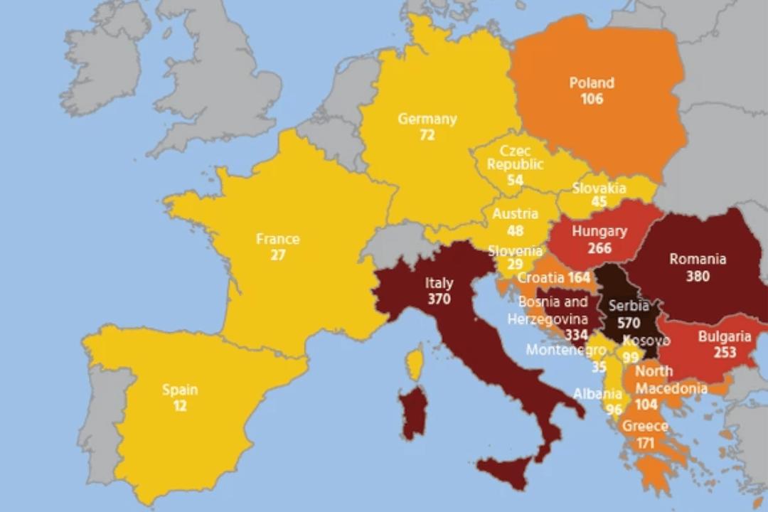 SRBIJA CRNA TAČKA Evropa pokušava da ih iskoreni, ukupno ih ima 10, čak 8 JE KOD NAS 24875