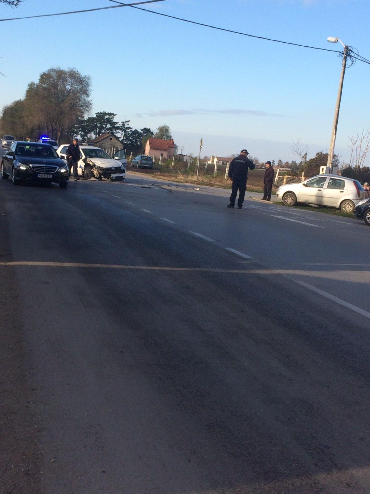 Saobraćajna nesreća u Dunavskoj ulici u Požarevcu 26375
