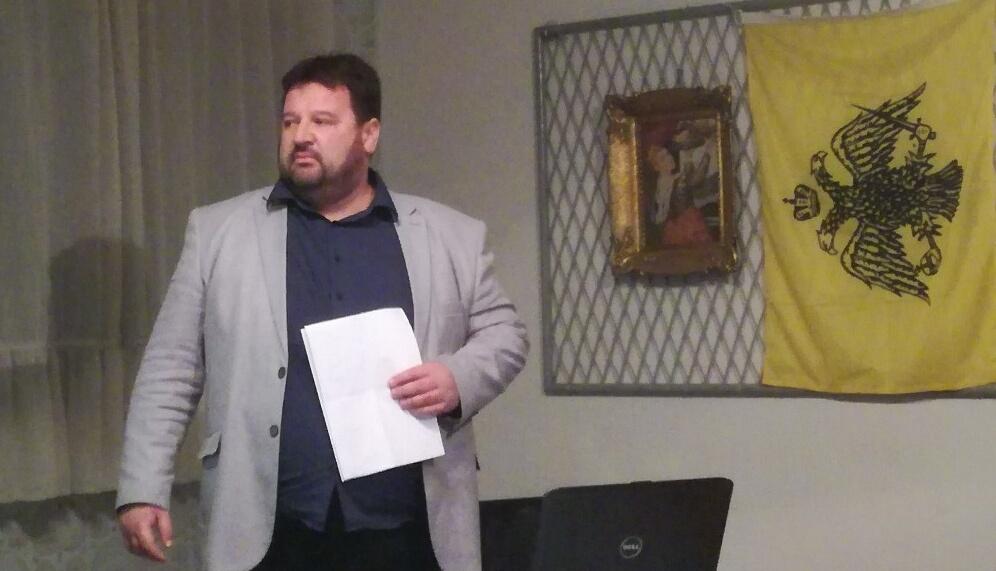 """Beseda o manastiru Hilandar u organizaciji Udruženja građana """"Kraljevina Srbija"""" MO Požarevac 26529"""