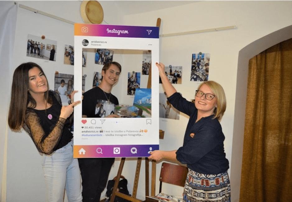 """Otvorena izložba Instagram fotografija """"#Kulturazamlade"""" 26573"""